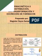 Clase 3 Farmacocinética II