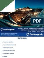 Osinergmin - Mercado de metales