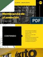 Memorando de planeación  Grupo Exito.pdf