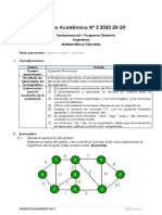 Producto Académico Nº 3 MATEMÁTICA DISCRETA 2020 20-20