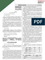 (12) Dan por concluidas designaciones aceptan renuncias y designan Subprefectos Provinciales y Distritales en diversas regiones