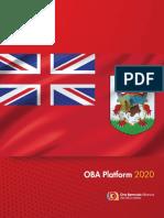 Oba Platform 2020