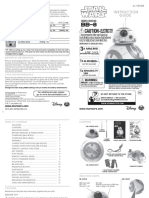Hero Droid BB8 Instruction Manual