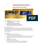Arduino Bluetooth module HC-06
