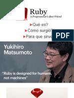 Historia de Ruby