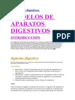 aparatos digestivos completo e incompleto