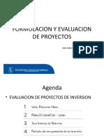 Presentacion Metódos Decisión Financiera Proyectos