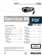 Philips-AZ-2558-Service-Manual