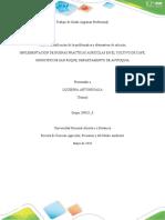 Fase 2 Identificación de la problemática y alternativas de solución