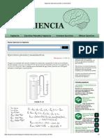 Sapiencia_ Ejercicios presión y manómetros