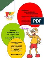 Kinderturnclub Kinderfasching 2011