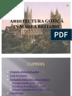 ARHITECTURA GOTICA IN MAREA BRITANIE