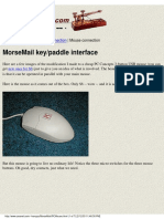- [Ham Radio] - Morse Electronic Project - How to Modify your Mouse to send Morse Code