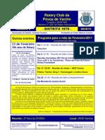 ROTARY - Programa Fevereiro_11