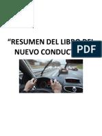 RESUMEN LIBRO DEL CONDUCTOR v2