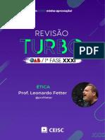 RT31 - Ética - Prof. Leonardo Fetter
