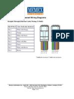 RJ45 Ethernet Wiring Diagrams