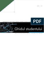 Ghidul Studentului ARH 10 11
