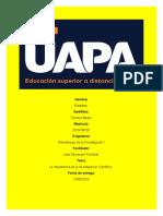 TRABAJO FINAL METODOLOGIA DE LA INVESTIGACION I