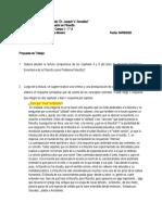 Trabajo Práctico N° 5 - TC 1 - 2° Cuatrimestre - Filosofía - 1° A - La Enseñanza de la Filosofia