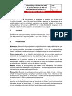 COLINA 163-PROTOCOLO DE PREVENCIÓN Y ACTUACIÓN PARA EL BROTE CORONAVIRUS SALA DE VENTAS BUEN VIVIR Y VECTOR CONSTRUCCIONES.pdf