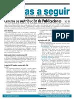 SG18 Centros de Distribución de Publicaciones