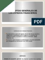 1a. CONCEPTOS GENERALES DE LOS EE.FF.