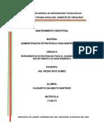 ESTIMACION DE COSTOS DE MANTENIMIENTO ABC