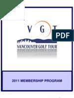 2011 VGT Membership Program