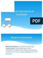 Musical Instruments in Orchestra