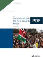ICTJ_KE_Institutional_Reform_pb2010