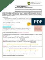 GUÍA APRENDIZAJE N°1 - Multiplicación y División de enteros
