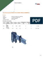 19. IPE500 COL HN606 CRUZ (CUBIERTA)