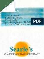 Searle-s-Speech-Act
