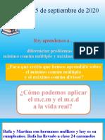 problemas mcm y mcd