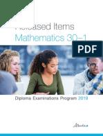 ed-diploma-exam-math-30-1-released-items-2019