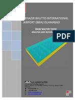 RAW WATER TANK DESIGN REPORT_2