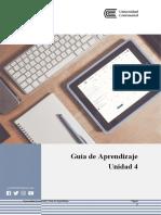 GUÍA DE APRENDIZAJE UNIDAD 4 - Desarrollo Psicologico Personal
