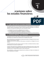 Lectura de Actividad 01 - Los Estados Financieros y el Analisis Financiero