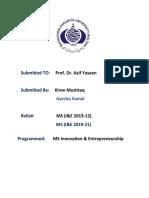 Critical Review of Social Entrepreneurship
