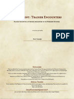 Supplement - Trainer Encounters