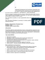 Graduate Interns - Finance And Admin