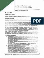 DIR.13 -MODALITES ET DELAIS DE TRAITEMENT DES FACTURES FOURNISSEURS- 09-08-2004