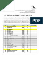 101 Indian Children's books we love
