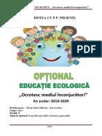 optonal ed ecologica 2019  2020