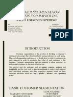 Segmentation analysis ppt
