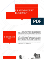TOOLS AND BAKERY EQUIPMENT