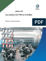 371 - Motor de la Crfter 2.5 TDI Common Rail 1