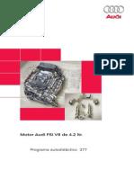 377 - Motor 4.2  V8  FSI audi