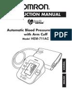 Omron HEM-711acn (2005) Instruction Manual